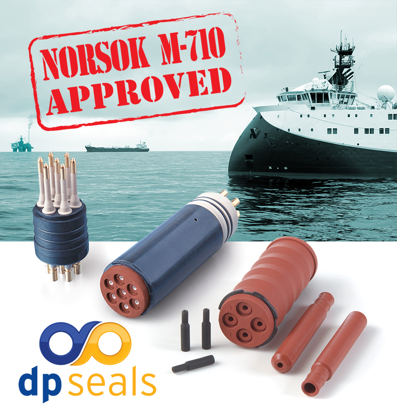Norsok approved seals and subsea rubber cable glands