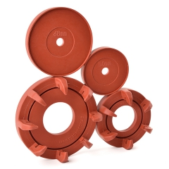 Rubber moulding innovation - protects key areas of replacement joints during aggressive bio coating procedure for the medical industry