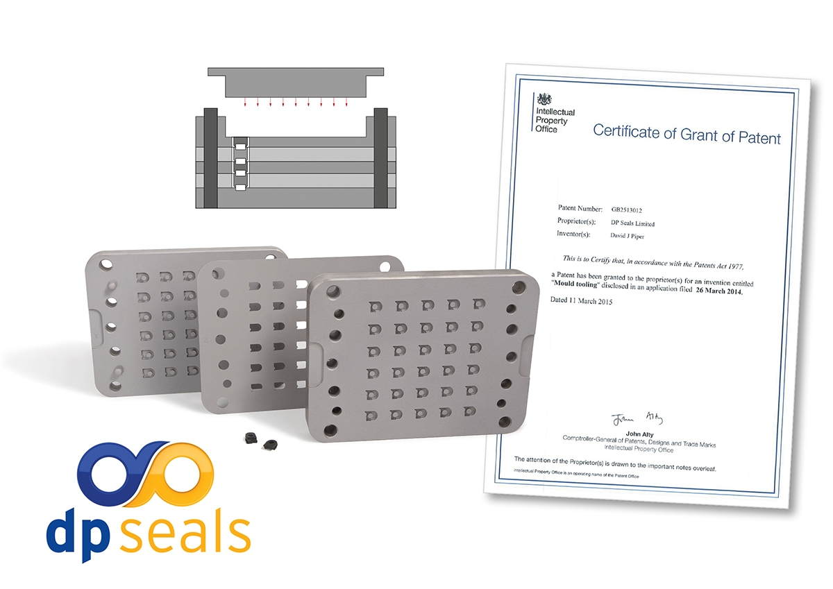 Rubber mould tool design - DP Seals Patented System