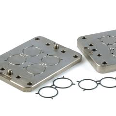 Rubber mould tool design - Mercedes prototype