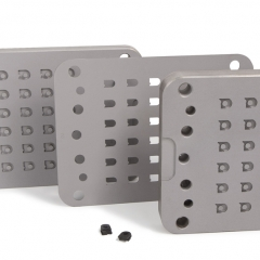 Rubber mould tool design - 3 stage moulding for aerospace seal