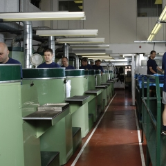 Designing & manufacturing rubber seals, gaskets & mouldings - Production line