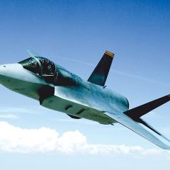 Aerospace rubber moulding - F35