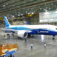 Aerospace rubber moulding - Boeing 787