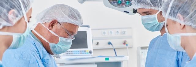 Surgeons operating