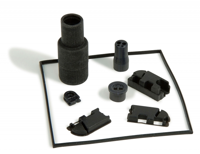 Rapid Prototyping Rubber Moulding using rubber like materials