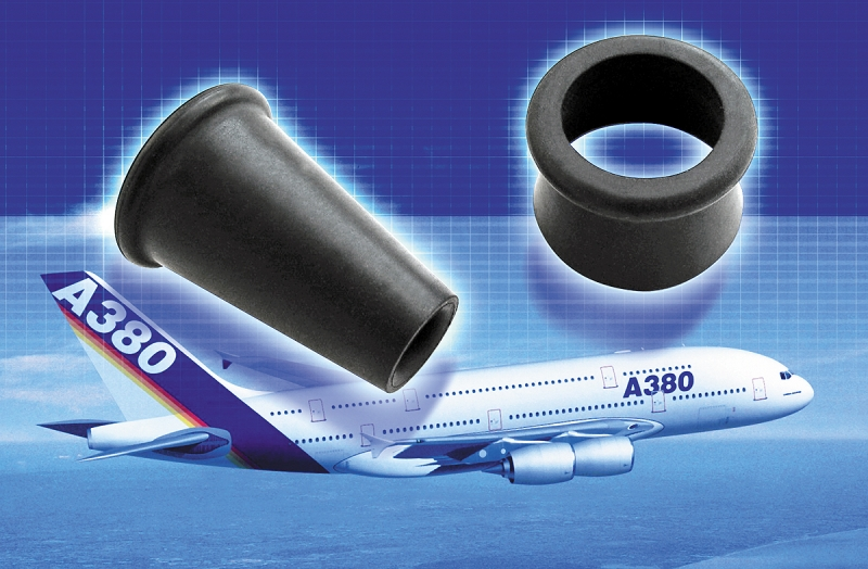 A380 Airbus and EPDM rubber diaphragms