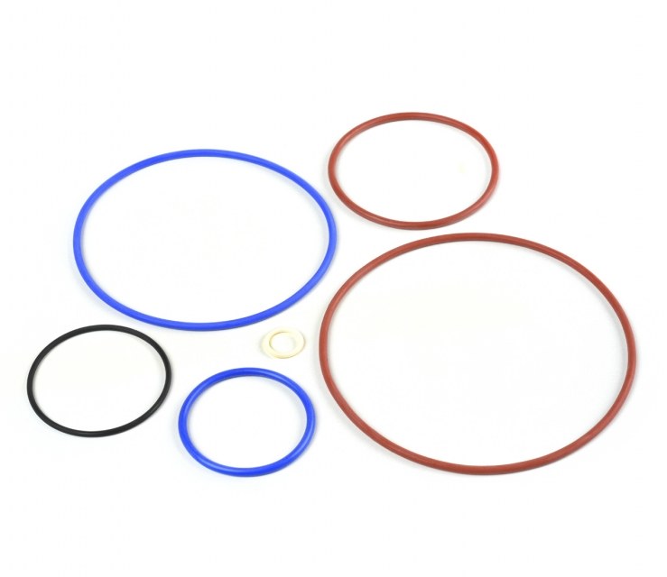 Aerospace rubber moulding - Flurosilicone O rings