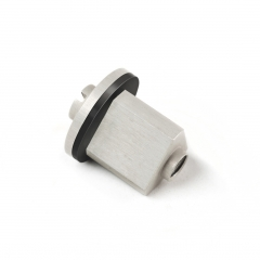 Aerospace rubber moulding - rubber to metal bonded fastener,
