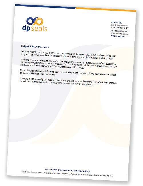 DP Seals REACH Policy